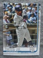 🔥💎 2019 Topps Update Series FERNANDO TATIS JR. RC #US-56 San Diego Padres
