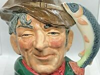 1954 Royal Doulton The POACHER Toby Character Jar D6429 - LARGE 6 Inch Size