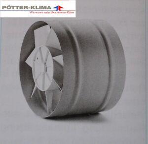 Helios Rohreinschubventilator, Typ: REW 200/4, 550m³/h, für Rohre NW200