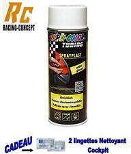 5x Blanc VITESSE formes en Plastique PVC peinture Plasti Dip hydrographique Vinyle Wrapping