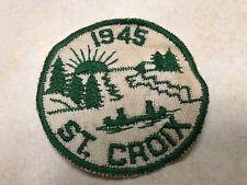 1945 St. Croix Boy Scout Camp Patch - Minnesota