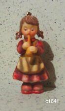 Berta Hummel Goebel Nativity Ornament Girl With Recorder New in Box