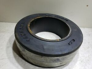 New Total Source 14 x 4.5 x 8 Press On Smooth Fork Lift Wheel / Tire