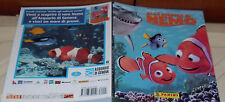1 ALBUM FIGURINE STICKERS FILM WALT DISNEY/PIXAR MOVIE-ALLA RICERCA DI NEMO cars