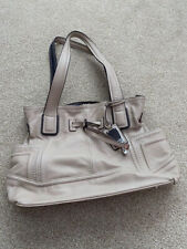 TIGNANELLO Beige leather handbag
