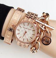 Original Michael Kors Uhr Damenuhr MK3183 NINI Edelstahl in Frabe: Rose Gold NEU
