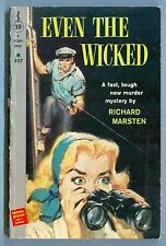 Even the Wicked, by Richard Marsten - Perma Books PB #M3117 - 1958