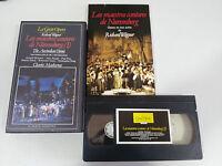 WAGNER LOS MAESTROS CANTORES DE NUREMBERG I AUSTRALIAN VHS TAPE LA GRAN OPERA