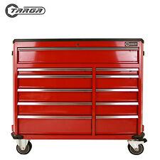 "TARGA 43"" Roller cabinet MECHANICS TOOL CHEST box trolley 11 Drawer RED TTC43R"
