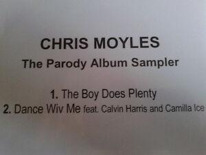Chris Moyles - The Parody Album Sampler CDr single PROMO 2009 MINT & VERY RARE