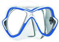 Mares X-Vision Blue Scuba Mask