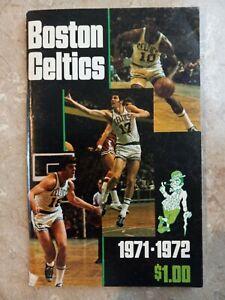 Boston Celtics Yearbook 1971-72