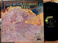 Savoy Brown Hellbound Train Vinyl LP Parrot XPAS 71052 Kim Simmonds 1st Pressing