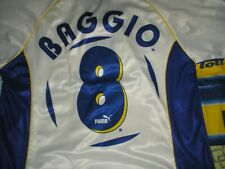 MAGLIA PARMA PUMA 1997 1998 - DINO BAGGIO 8 - ANCELOTTI BUFFON CANNAVARO CRESPO