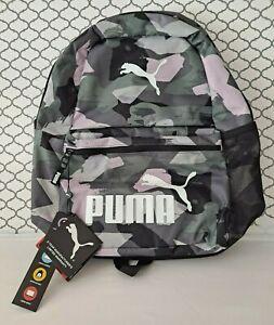 Puma Camo Backpack - Lavender/Grey - NEW! (B2)