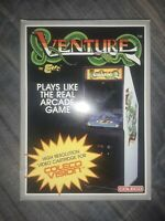 Venture by Exidy Colecovision 1982 Complete in Box