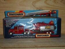 "MATCHBOX  superking  "" fire spotter plane transporter ref k 112"
