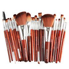22pcs Kabuki Make up Brushes Set Makeup Foundation Blusher Face Powder Brush 18pcs Gold