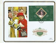 St LUCIA 6 FEB 2012 DIAMOND JUBILEE M/SHEET O/S VLE FIRST DAY COVER