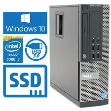 Dell Optiplex 7010 SFF Desktop PC, i5 3470 3.2Ghz 8GB 1TB SSD, Windows 10, Wifi