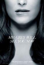 Fifty Shades Of Grey movie poster (d) Dakota Johnson poster