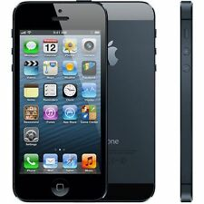 iPhone 5 32GB Black Factory Unlocked 8MP Camera Smartphone