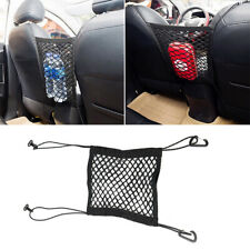 1x Elastic Mesh Net Bag Organizer Between Car Seat Luggage Storage Holder Pocket