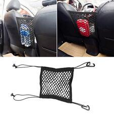 1x Elastic Mesh Net Bag Organizer Between Car Seat Luggage Storage Holder Pocket