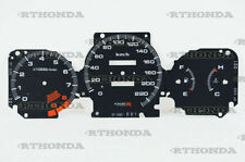 Gauge Faces Overlay kit Type-R style  for Honda Civic Ek 96-00 OEM
