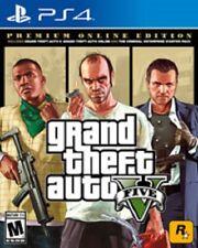 Grand Theft Auto GTA V Premium Online Edition Sony Playstation 4