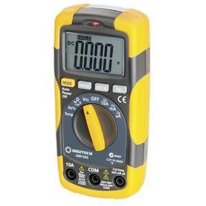 Cat III Multimeter with Temperature QM1323 600V 10A AC/DC