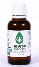 15% d'huile de chanvre forte 5000 mg. 30 ml Certifié 100% bio douleur, soulagem