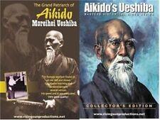 2 Dvd Set Patriarch Japanese Aikido Master Moreihei Ueshiba old B/W footage