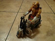 1998 HASBRO--SMALL SOLDIERS--RADIO CONTROL POWER DRILL CYCLE W/ ARCHER FIGURE