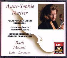 Anne-Sophie MUTTER: BACH LALO MOZART SARASATE Seiji Ozawa Muti Accardo EMI 3CD
