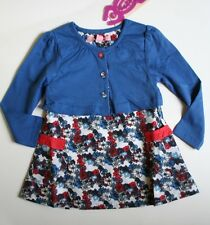 NEW Beetlejuice LONDON sz 4 Cardigan Dress Red White Blue Navy 4th of july