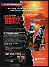 THE KEY TO REBECCA__Original 1991 Trade print AD promo__DAVID SOUL__Ken Follett