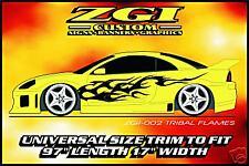 ZGI CUSTOM 1 - COLOR  AUTO SIDE GRAPHICS!!  ZGI-OO2 TRI