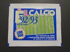 BUSTINA FIGURINE IL CALCIO VALLARDI 92-93  PIENA SIGILLATA (NO PANINI) NEW- FIO