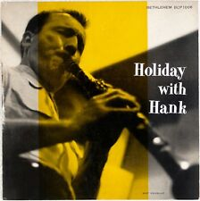"HANK D'AMICO QUARTET: Holiday with Hank US Bethlehem DG Jazz LP 10"" NM-"
