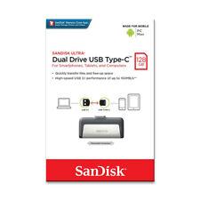 SanDisk SDDDC2 128GB OTG Type-C Ultra Dual USB 3.1Flash Pen thumb Drive 150MB/s