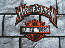 Aufnäher Patch Motorcycles Harley-Davidson Racing Motorradsport Biker-MC Race GT