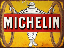 Michelin Man Bike Tires  High Quality Metal Magnet 3 x 4 inches 9393