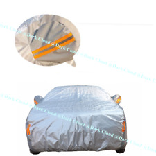 [DARK CLOUD - PEVA] EXTRA THICK CAR COVER BELT LOCK/ZIP VEHICLE PROTECTOR CLOTHE