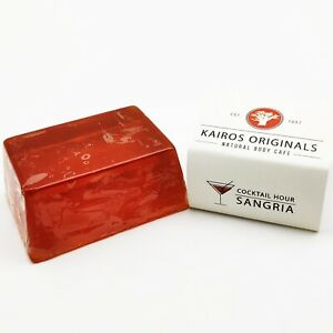 Sangria - citrus & cinnamon essential oil - Handmade Natural Soap Bar