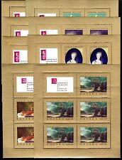 Poland - 1967 Paintings - Mi. 1808-15 KB MNH