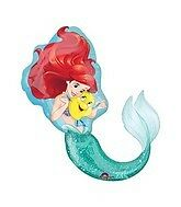 Amscan International 3352901 Little Mermaid Foil Balloon