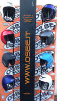 OSBE SKI SNOWBOARD HELMET STYLE like Proton New Genuine Italian multiple colours