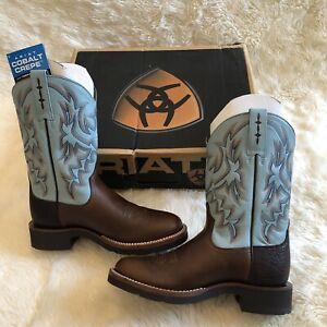 ARIAT Cobalt Crepe Men's Leather Cowboy Western Boots | 8