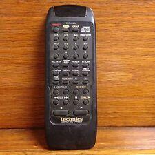 New listing Technics Eur644972 Compact Cd Disc Changer Remote Good shape